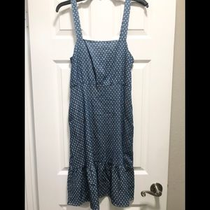 NWT LUCCA Smock dress with adjustable straps